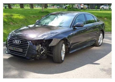 Обнаружена Audi A6